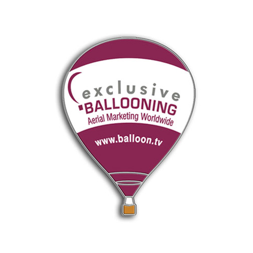 G-OOEY - Exclusive Ballooning - Hot Air Balloon PIN
