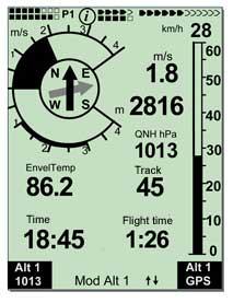 Flytec 6040 Altimeter Variometer.