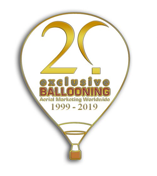 Exclusive Ballooning 20th Anniversary Pin
