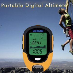 Portable digital altimeter